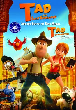 Tad, The Lost Explorer and the Secret of King Midas v.f.